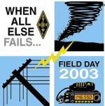 2003 field day logo
