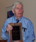 Ed Weiss, W1NXC, Herb S. Brier Award recipient