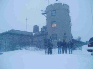 W1BOS/MQE operation, Blue Hills, December 6, 2003