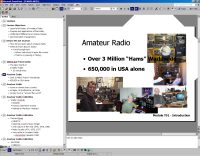 image from PPT presentation on intro to Amateur Radio