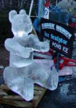 Whitman Winterfest, ice carving