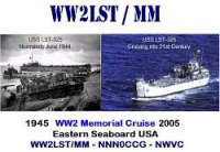 WW2LST QSL card