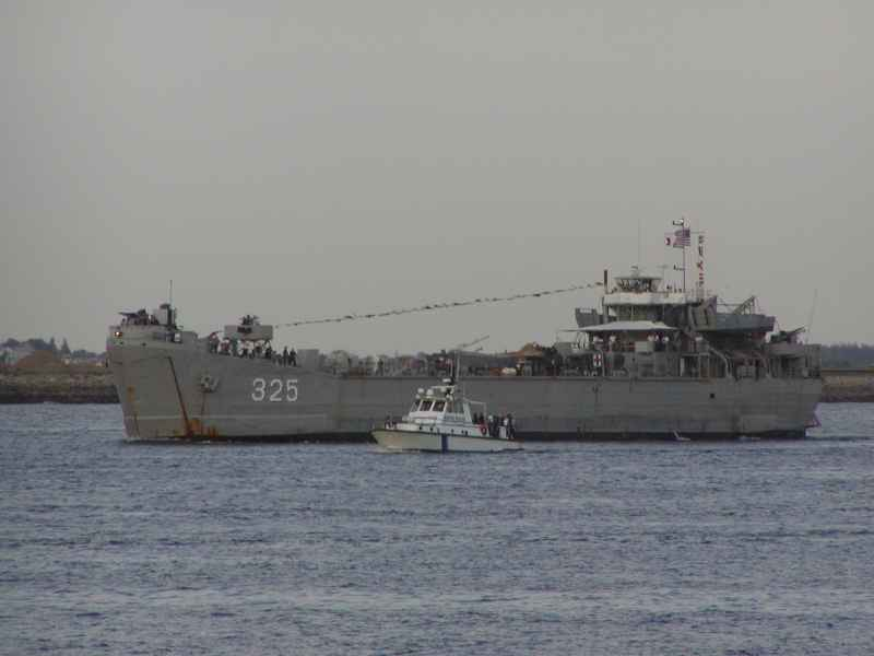 LST-325 with amateur station WW2LST, photo #2 by N1VUX