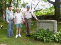 Bridgewater fox hunters in cemetary