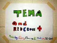 Taunton EMA/Red Cross sign