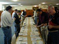 Nashoba Valley ARC QSL sorting meeting