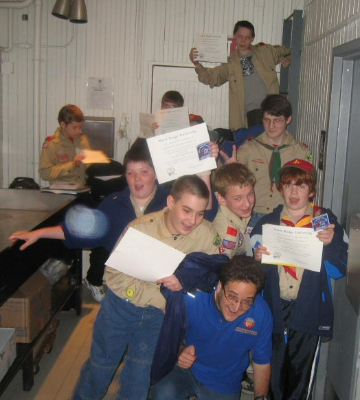Boy Scouts at W1AF