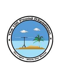 100 Pound DXpedition logo