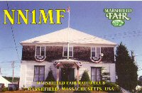 Marshfield Fair Special Events QSL card