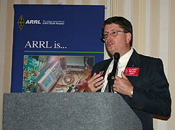Joel Harrison, W5ZN, photo courtesy ARRL