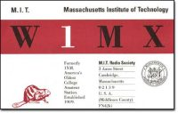 MIT RS QSL card