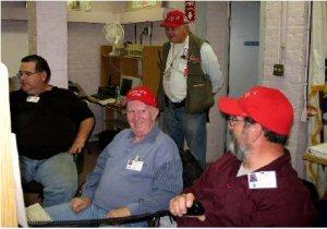 Pilgrim Nuke 2006 FEMA exercise, Bridgewater EOC