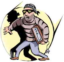 burglar cartoon character