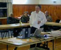 N1SV/Art of QSLing at Nashoba ARC meeting