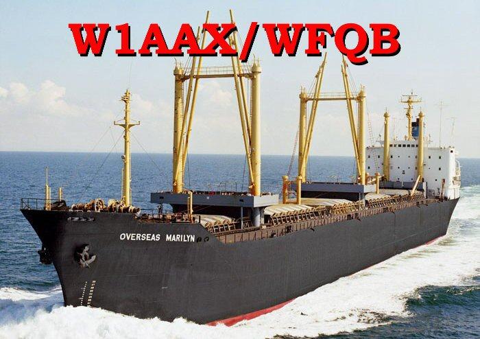 W1AAX/WFQB QSL card