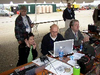 Amateur Radio demo at 2007 Hurricane Awareness Tour