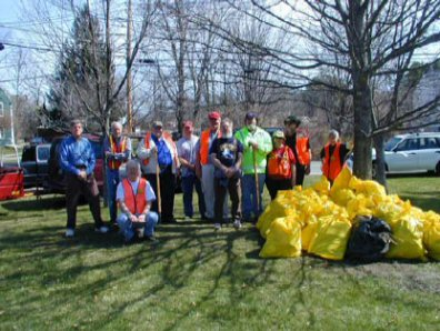 NVARC Highway Cleanup, April 2007