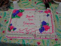 Cake for webmaster KC1YR at FARA