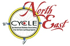 American Diabetes Assn Cycle Northeast logo