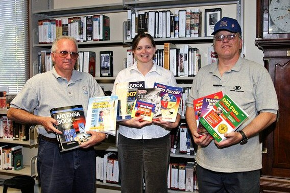 Donation of ARRL books to Whitman Library