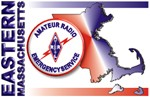 Eastern MA ARES logo