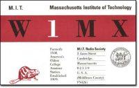 MIT Radio Society QSL/logo