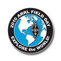 2010 Field Day pin/logo