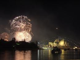 New Year's Eve celebration, Sydney Australia