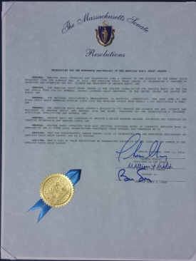 2014 Senate Amateur Radio Resolution