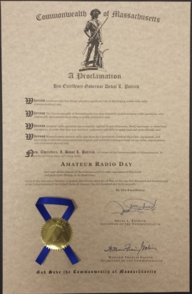 2014 Gubernatorial Amateur Radio Proclamation