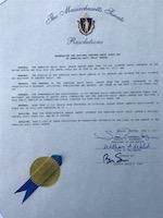 MA Senate proclamation 2017