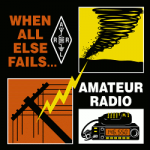 """When All Else Fails... Amateur Radio"" logo"