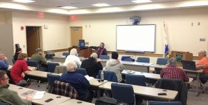 Recent licensing class held by the Whitman ARC