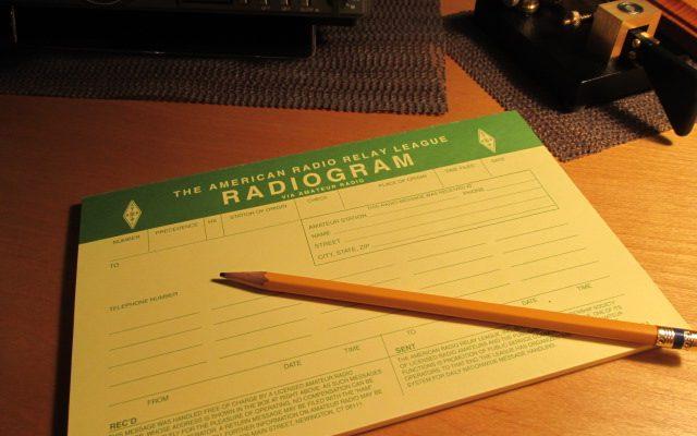 NTS Radiogram form