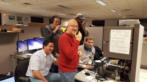 SKYWARN Recognition Day, Dec. 2017 at WX1BOX