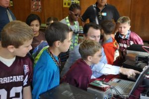 ARISS contact with the East Falmouth Elementary School on Oct. 26, 2012