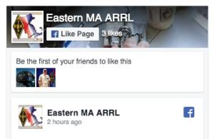 Eastern MA ARRL FB page icon