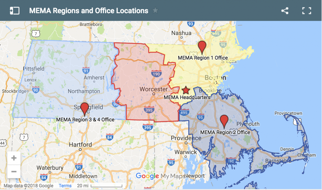 MEMA Regions and Office Locations