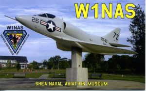 image of W1NAS QSL card