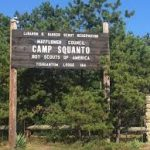camp squanto sign