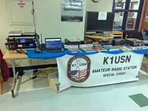 Amateur radio display at Scituate Science Fair