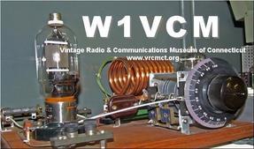 W1VCM QSL card
