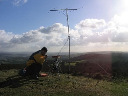 photo of a summit on the air operation