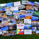 assorted QSL cards
