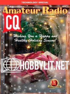 CQ Amateur Radio Magazine cover, December 2020 issue