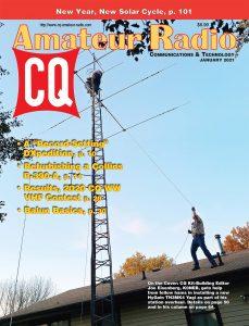 January 2021 issue of CQ Amateur Radio Magazine