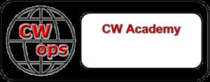 CW Ops CW Academy logo