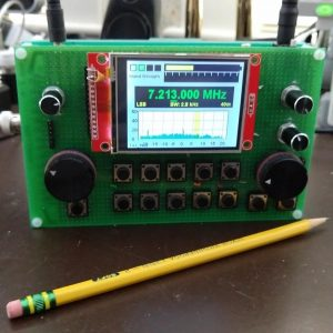 AK1WI homebrew SDR radio