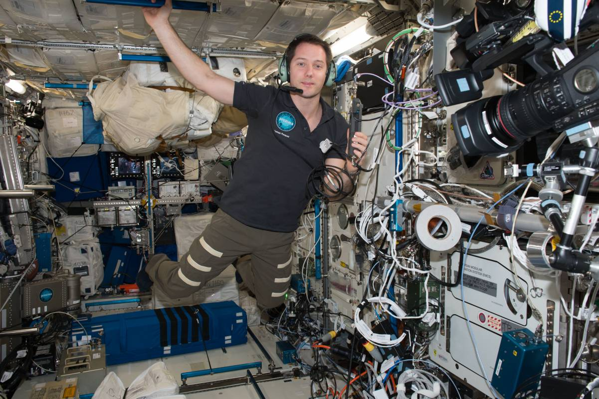 Ham radio aboard the International Space Station
